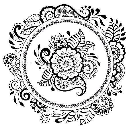 Школа Мехенди | Онлайн обучение росписи хной | Mandala ...