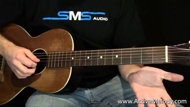 Acoustic Blues Guitar Lesson - this guy is a great teacher. Great for beginners