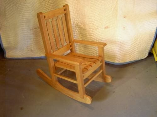 Childs Rocking Chair on Pinterest  Childrens rocking chairs, Wooden ...
