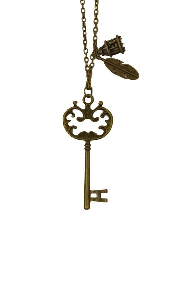 Key of Secret Necklace - Jewelry - Accessories Boutique Onze