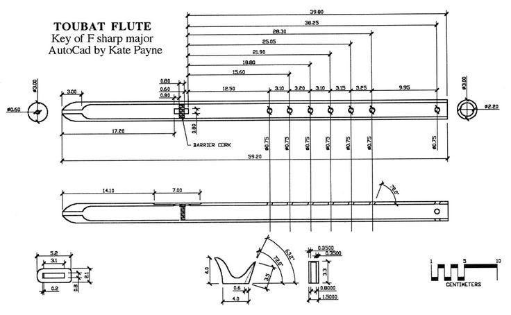 Toubat Flute Plans