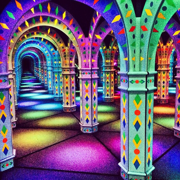 Mirror maze mall of america head in the clouds pinterest