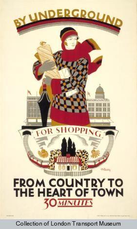 by Dora M Batty, 1925 - London Transport Museum
