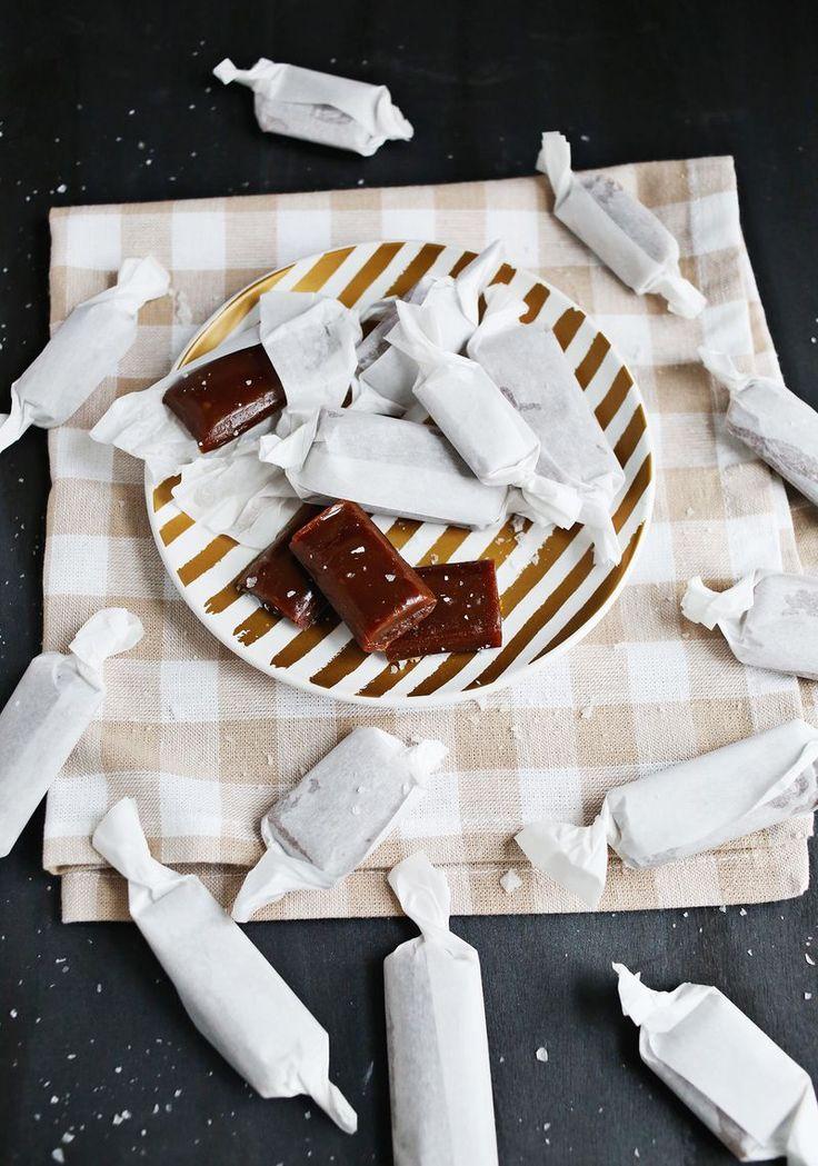 Homemade Candy: Salted Butter Caramels | A Beautiful Mess | Bloglovin'