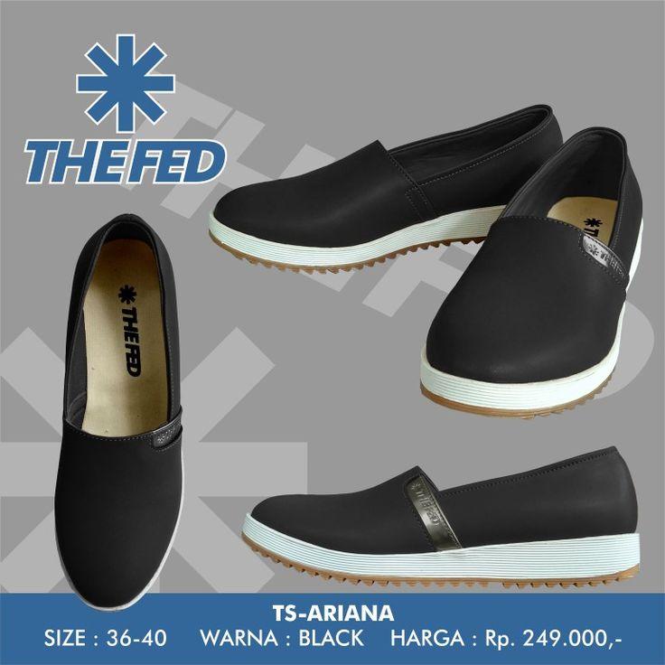 THE FED Footwear TS-ARIANA Black  jujung@gmail.com