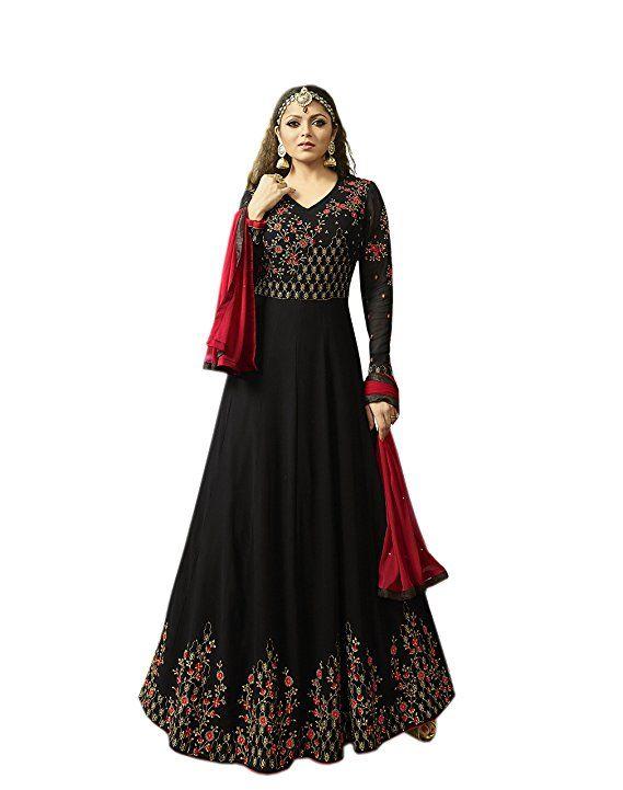 7064846aa3 Indian Pakistani Traditional Designer Anarkali Salwar Kameez Dress Suit Gown
