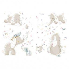 Autocollants décoratifs - Bao & Wapi de Noukie's