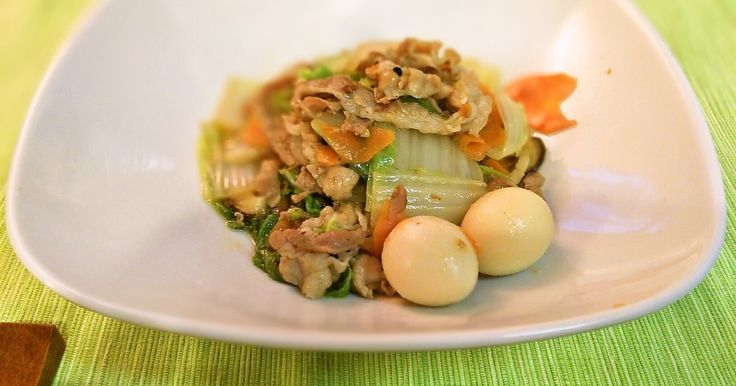 八宝菜風!豚バラと白菜の炒め物 by アンドゥーー [クックパッド] 簡単おいしいみんなのレシピが272万品