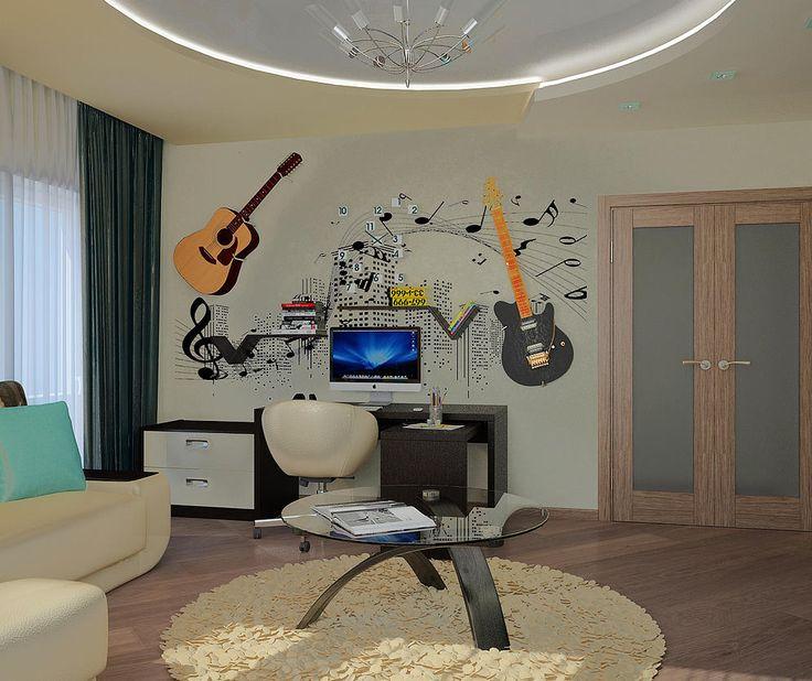 Дизайн интерьера квартиры Декор стен