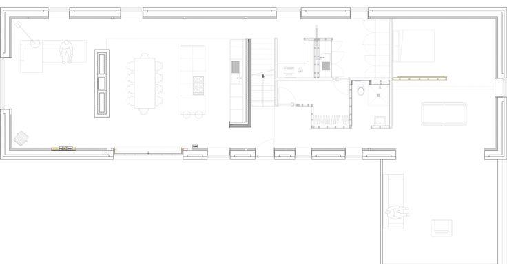 Oltre 25 fantastiche idee su architettura moderna di casa for Layout della casa del fienile
