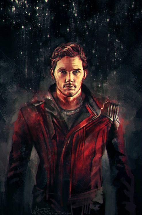 Star Lord (Chris Pratt) - Guardians Of The Galaxy ...
