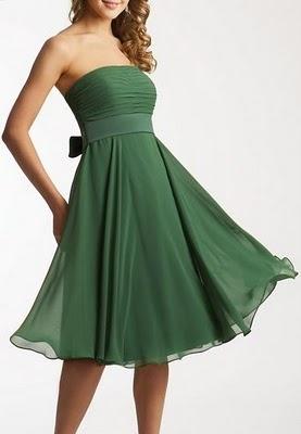 !!! Gracia , Qué Me Pongo !!!: Vestidos verdes !!!