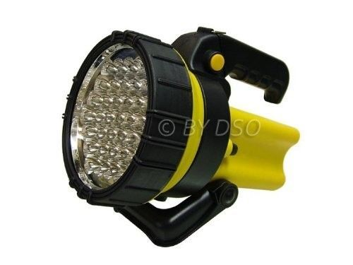 High Power LED Torch Rechargeable 4V~4AH Lantern Spotlight 37 LED Super Bright #HighPowerLEDTorch