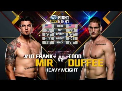 UFC (Ultimate Fighting Championship): Fight Night Brisbane Free Fight: Frank Mir vs Todd Duffee