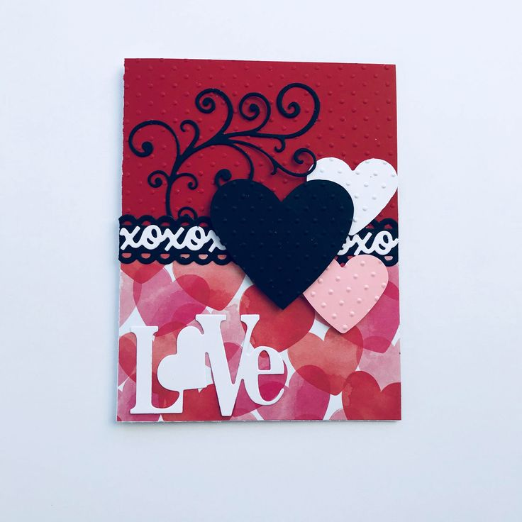 Excited to share the latest addition to my #etsy shop: DIY Card Kit  Set of 6  Valentines Card