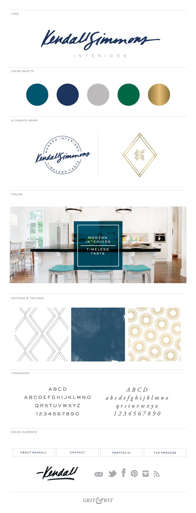 Brand Reveal // Kendall Simmons Interiors - Grit & Wit