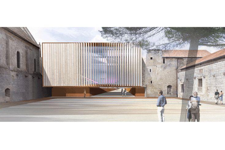 FONTAINE-LE-COMTE // Salle de spectacle dans l'enceinte de... - Opus 5 Architectes