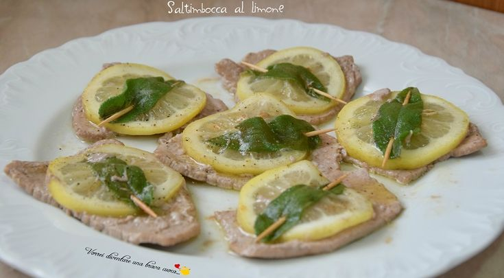 Saltimbocca al limone