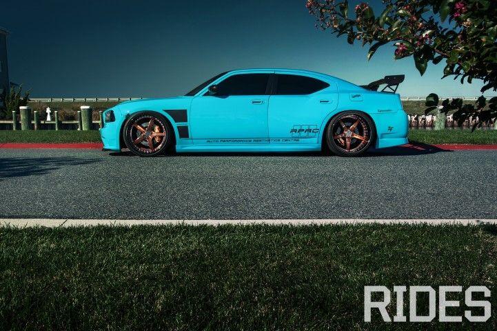 Blue Blooded: 2006 Dodge Charger SRT8 - Rides Magazine