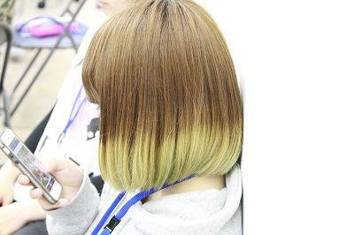 【バンタンデザイン研究所】バンタン高校生のヘアカラー