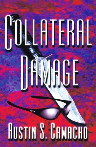 Collateral Damage (Hannibal Jones Mysteries) by Austin S. Camacho, http://www.amazon.com/dp/B001DQ0FV4/ref=cm_sw_r_pi_dp_sF2Bqb032W1PR