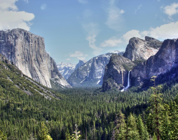 Tunnel View Yosemite- Klement Photography