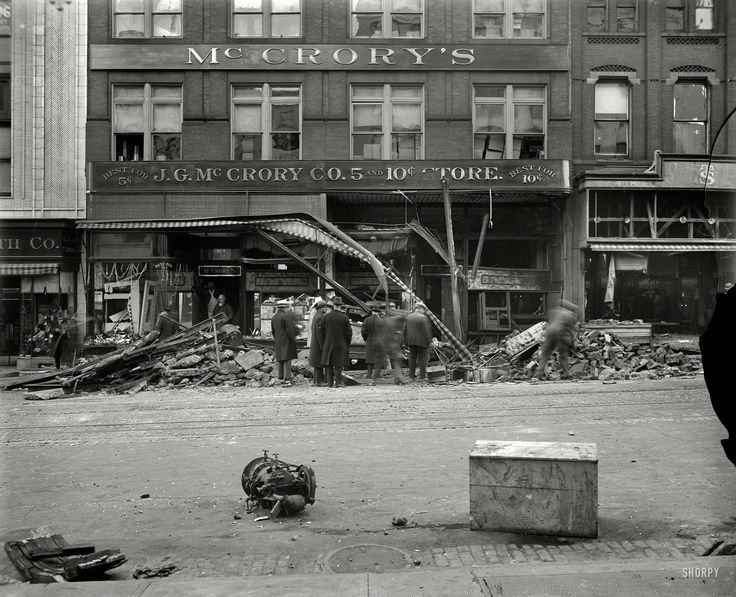 Dime store disaster 1929 aftermath of the mccrory Five and dime stores history