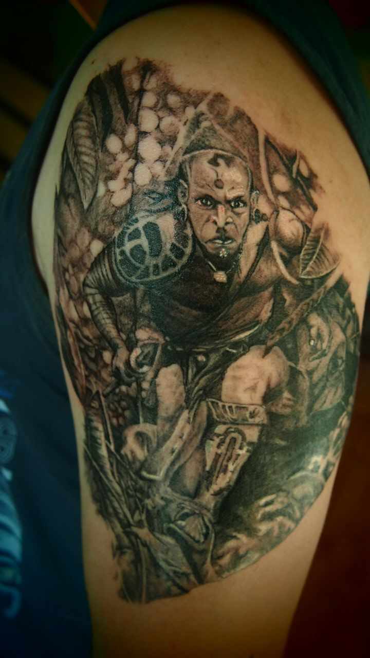 apocalypto tattoo