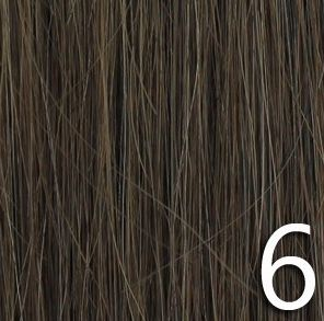 No 6 - Medium Brown 100% Human Hair Weave Extensions
