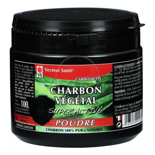 Charbon végétal super activé poudre - 100 g