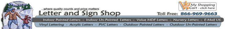 Where to buy wood to Modpodge pictures onto.  Indoor Unpainted Wooden Letters - 3dwoodcraft