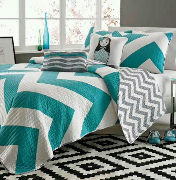 Best 25 Teal Bedding Ideas On Pinterest: 25+ Best Ideas About Teal Chevron Room On Pinterest