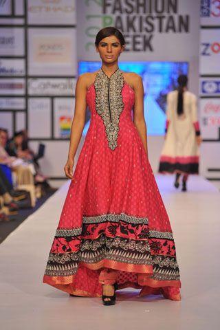 Umar Sayeed @ Pakistan Fashion Week 2012 (day 2).