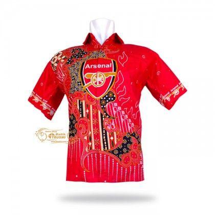 eBatik Hem Batik Indonesia Motif Klub Arsenal