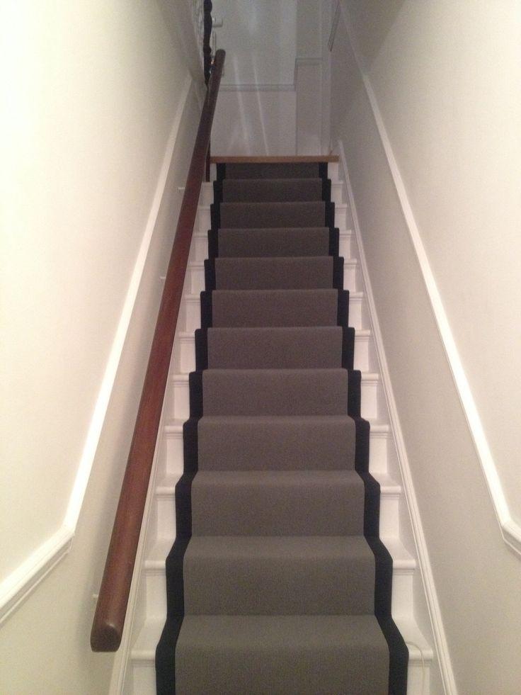 Lovely grey stair runner