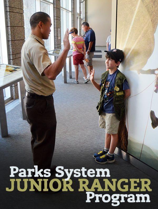 Free Parks System Junior Ranger Program for Kids!