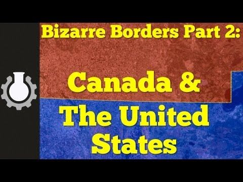 One Look At The United States-Canada Border Reveals Some Ridiculous Things A Must See! Very interesting short film about the Canadian & US borders.