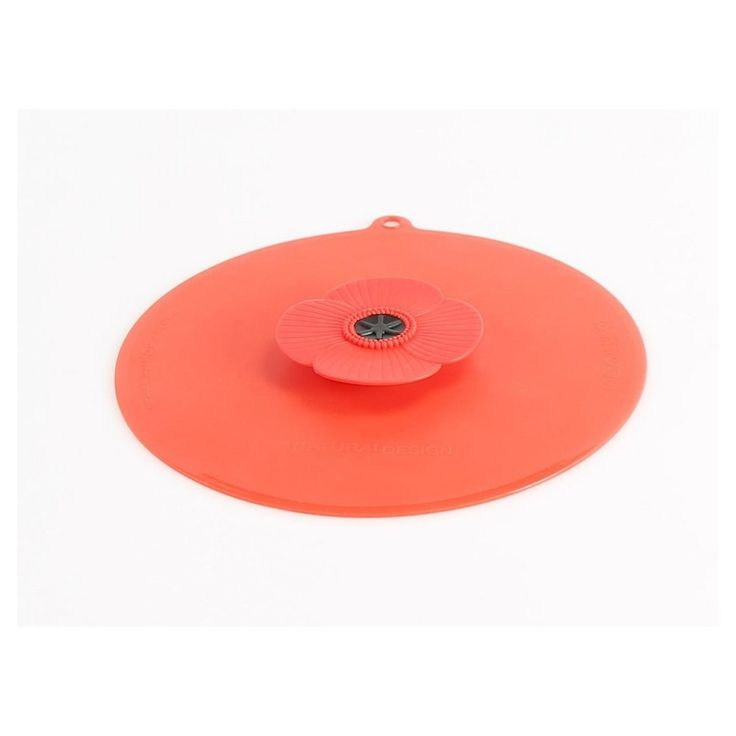 Charles Viancin 9 Silicone Lid Splatter Screen, Red
