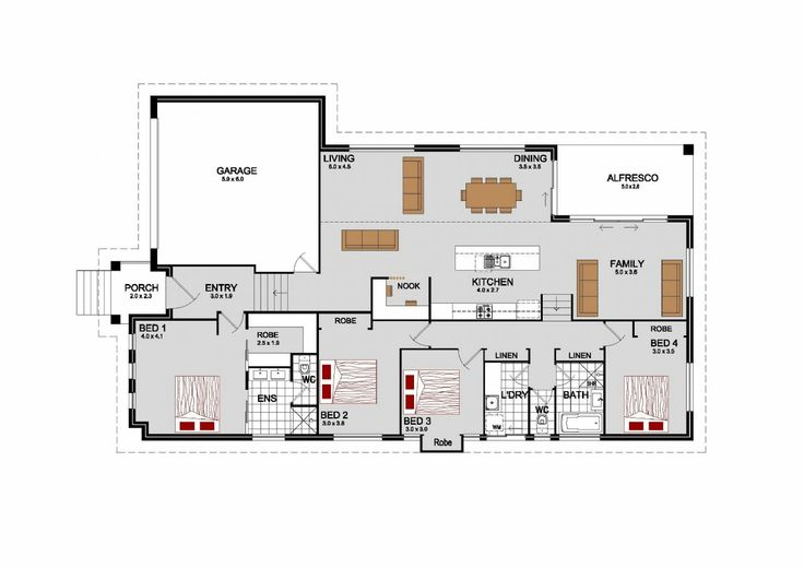The Southbrook, Our Designs, New South Wales Builder, GJ Gardner Homes New South Wales