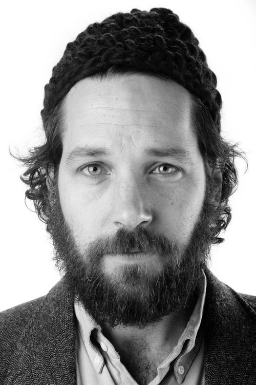 {Paul Rudd} scruffy
