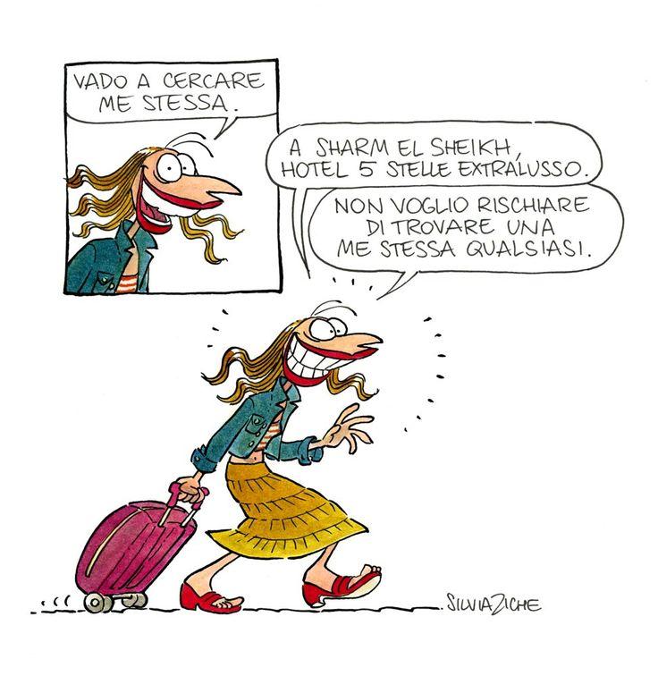 VENERDÌ 29 MAGGIO 2015  Cerco me stessa Disegnato da Silvia Ziche