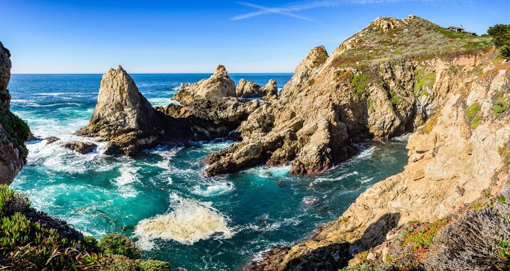 """Rocky Point, California - Sometimes the name just fits, and Rocky Point fits this rugged headland on the Pacific Coast.  It's behind the Rocky Point Restaurant, so stop for a meal or drink and be sure to take a walk around their scenic loop trail and enjoy this beautiful area.  http://jhp.photos . <a href=""""http://jhp.photos"""">John Hight Photography</a> ..."""