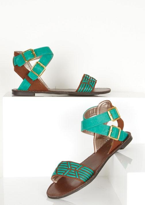dELiAs > Alisha Sandal > shoes > sandals > flats