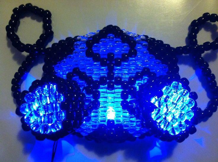 17 besten LED Light up Masks Bilder auf Pinterest   Gasmasken, Ponys ...