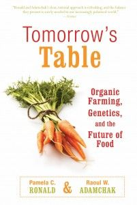"""Tomorrow'sTable: Organic Farming, Genetics, and the Future of Food"" by  Pamela Ronald and Raoul Adamchak.  Interesting book written by a married couple.  He is an organic farmer and she is head of the plant genomics program at UC Davis. Their combined experience provides a unique perspective on organic farming and genetic engineering."