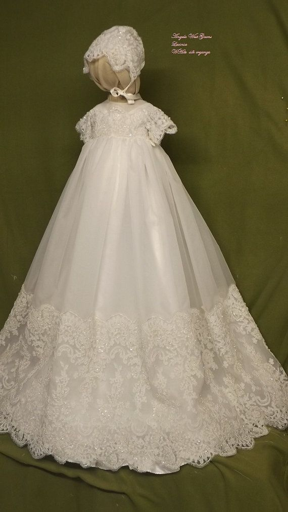 Vestido de Angela West bautizo set lavinia a por angelawesthgowns