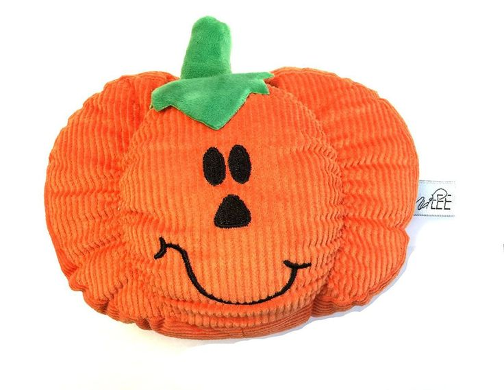 Pumpkin Smiley Face Dog Toy by Midlee - Poochieheaven
