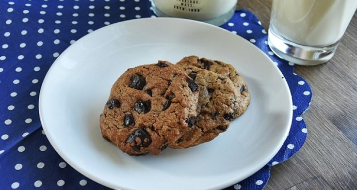 Chocolate chip cookies (bez jajek i mleka)