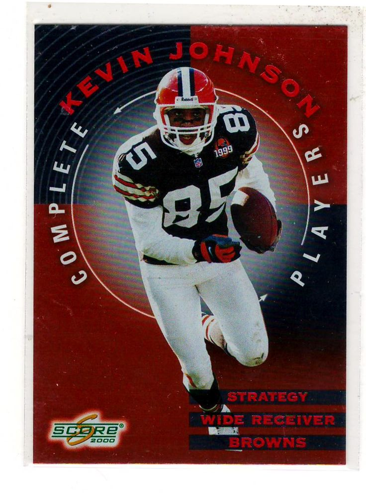 Sports Cards Football - 2000 Score (Complete Players) Kevin Johnson