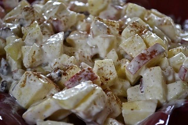 apple yogurt salad fruit salad for fall produce more fruit salad meals ...